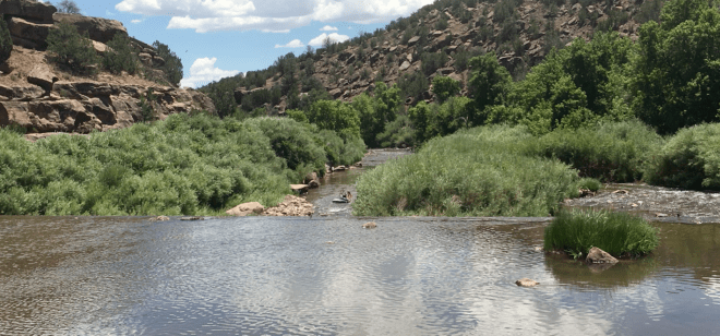 TUBING THE PECOS RIVER